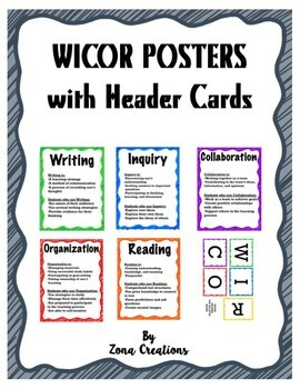 Scribble-themed WICOR Poster Displays