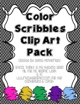 Scribbles Clip Art