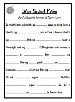 Scríbhneoireacht: An Caitheamh Aimsire is Fearr Liom