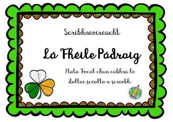 Scríbhneoireacht: Lá Fhéile Pádraig