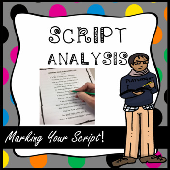 Script Analysis: Marking Your Script, Shakespeare Monologues