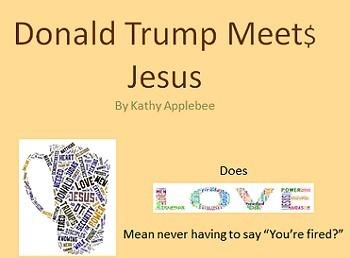 Script: Donald Trump Meets Jesus