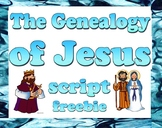 Script: Genealogy of Jesus (Mother's Day)