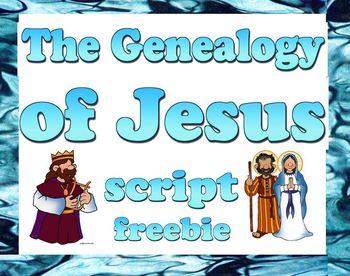 Script: Genealogy of Jesus (Mother's Day)