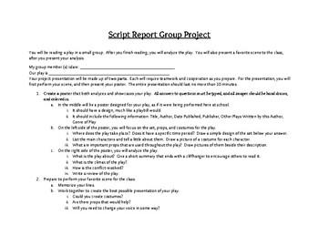Script Report Project