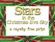 Script: Stars in the Christmas Eve Sky