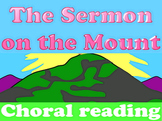 Script: The Sermon on the Mount choral reading