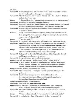 """Script, Vocab, Q's, and Literary Bingo for O'Henry's """"A Retrieved Reformation"""""""