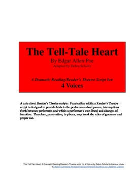 Script for 4 Voices--The Tell-Tale Heart