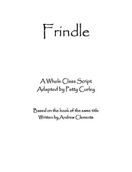 Script for Frindle