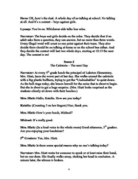 Script for No Talking