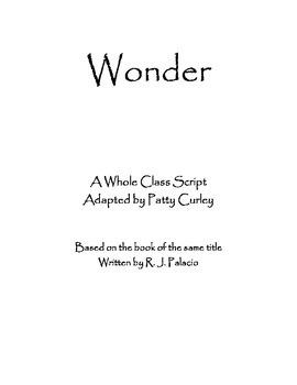 Script for Wonder