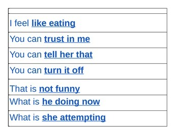 Scripted phrases for use with AAC & speech