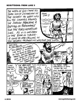 Scriptoons: Luke 3 - John the Baptist Announces Christ