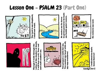 Scriptoons Psalms: Volume One