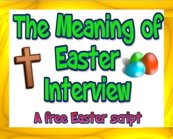 Scripts: Easter package 1