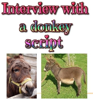 Scripts: Five skits about donkeys in the Bible