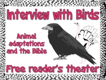 Scripts: Interviews with Biblical Birds