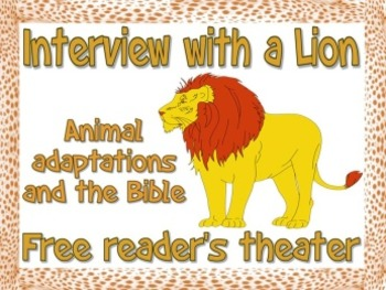 Scripts: Lions in the Bible