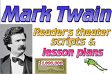 Scripts: Mark Twain reader's theater (2) & lesson plans