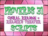 Scripts: Proverbs 31 reader's theater & choral readings
