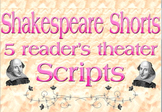 Scripts: Shakespeare reader's theater (5 scripts)