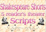 Scripts: Shakespeare reader's theater (5 scripts)