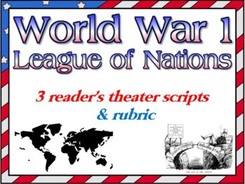 Scripts: WW1 and League of Nations reader's theater