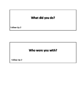 Scripts for Everyday Conversation: Small Talk in Speech Therapy