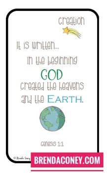 Scripture Cards for YOUNG Kids