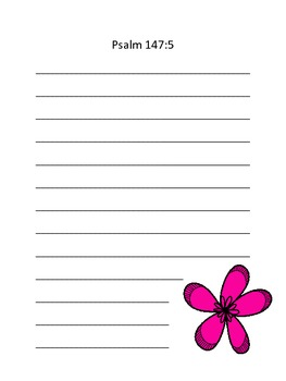 Scripture Journals for boys or girls