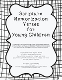 Scripture Memorization Cards for Children