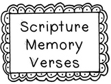 Scripture Memory Verse Posters