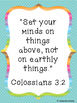Bible Scripture Posters: For the Workplace