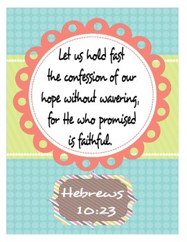 Scripture Posters Freebie