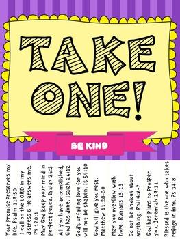 Scripture Reminders Motivational Kit (includes Kindness Pack)