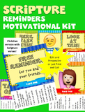 Scripture Reminders Motivational Kit (includes Kindness Pack)