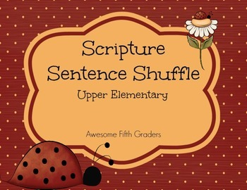 Scripture Sentence Shuffle