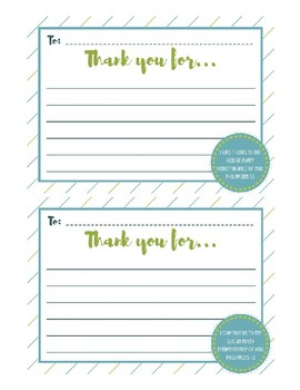 Scripture Thank You Card