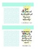 Scripture Verse Post-It Frames - Great Teacher Gifts!