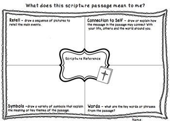 *FREE* ~ Scripture Worksheet