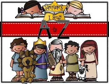 Scriptures I Study from A to Z Booklet (Bible ABC, Handwriting)