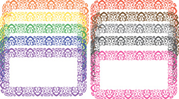 Scroll Color Clipart