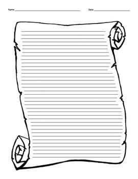 Scroll Worksheet