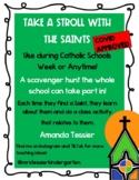 Scroll with the Saints Catholic Schools Week Scavenger Hun