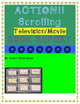 Scrolling Television Book Report Project-English & Spanish