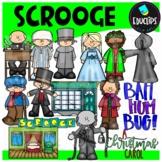 Scrooge Clip Art Bundle {Educlips Clipart}