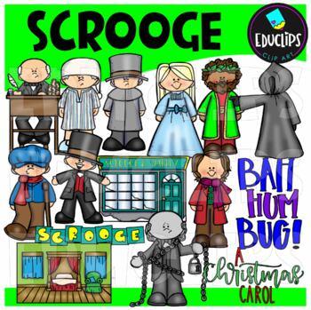 Scrooge Clip Art Bundle
