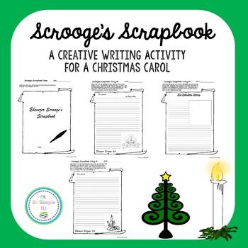 Scrooge's Scrapbook- A Christmas Carol Creative Writing