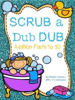Addition Facts to 10: Worksheets, Games & an Assessment